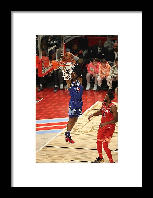 Nba Pro Basketball Framed Print featuring the photograph Chris Paul by Joe Murphy