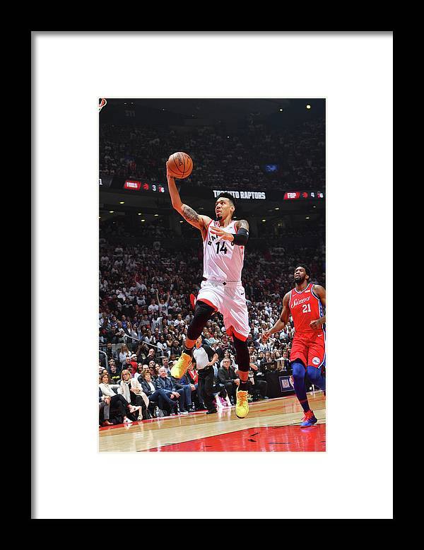 Playoffs Framed Print featuring the photograph Danny Green by Jesse D. Garrabrant