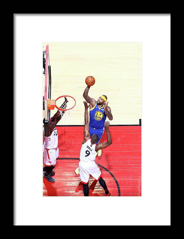 Playoffs Framed Print featuring the photograph Demarcus Cousins by Nathaniel S. Butler