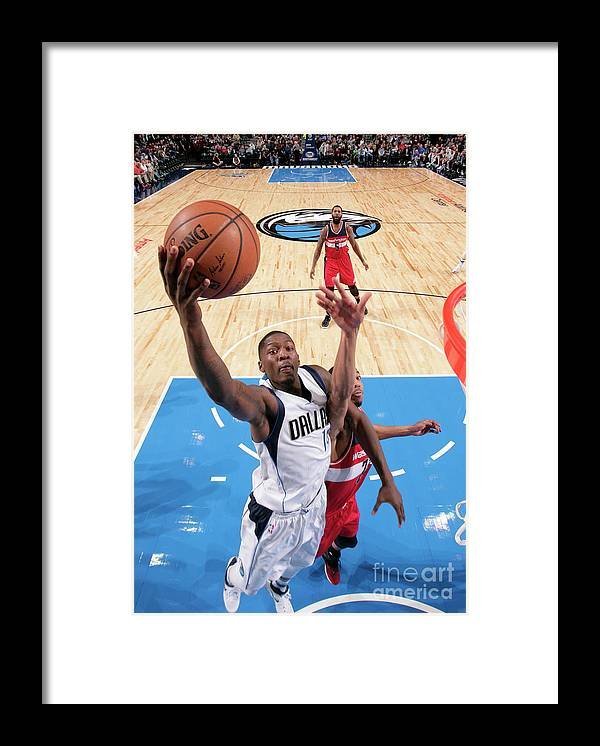 Nba Pro Basketball Framed Print featuring the photograph Dorian Finney-smith by Glenn James