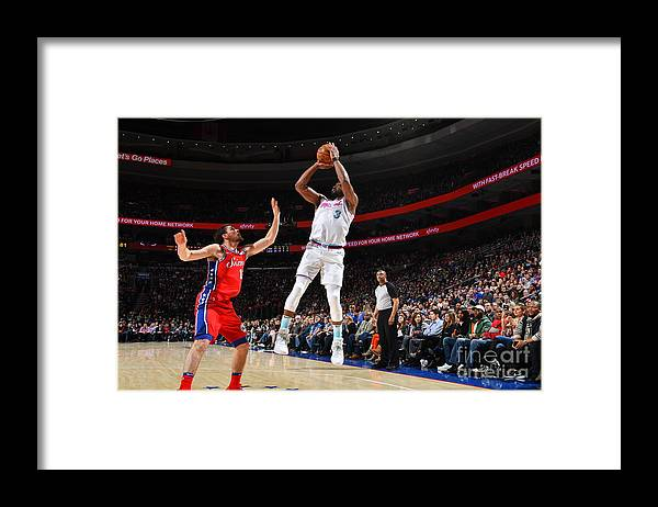 Nba Pro Basketball Framed Print featuring the photograph Dwyane Wade by Jesse D. Garrabrant
