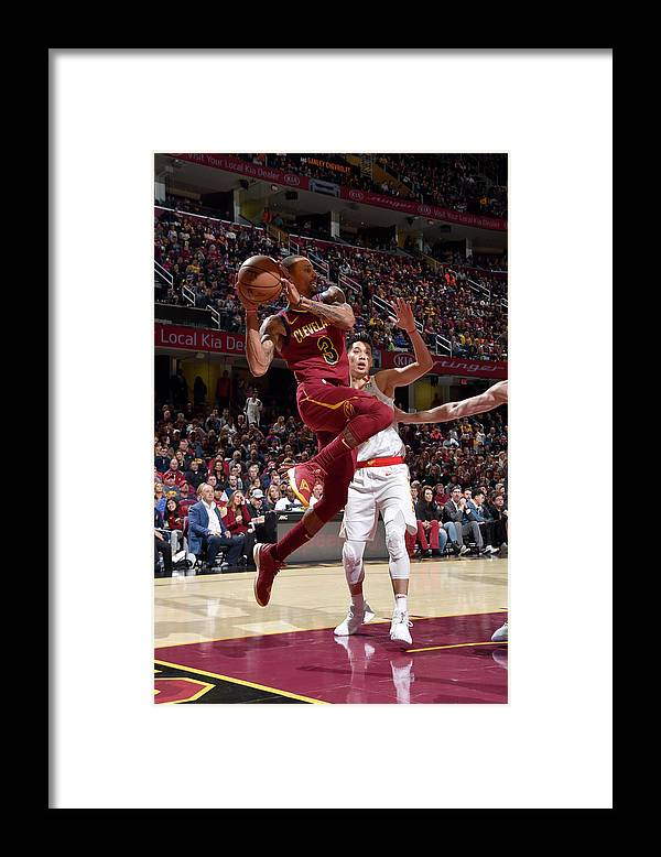 Nba Pro Basketball Framed Print featuring the photograph George Hill by David Liam Kyle
