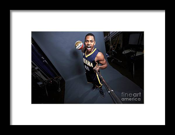 Event Framed Print featuring the photograph Glenn Robinson by Jennifer Pottheiser