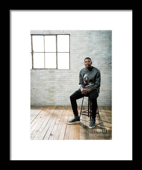 Nba Pro Basketball Framed Print featuring the photograph Glenn Robinson by Nathaniel S. Butler