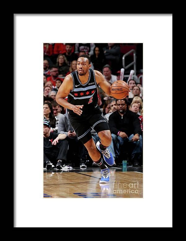 Nba Pro Basketball Framed Print featuring the photograph Jabari Parker by Gary Dineen