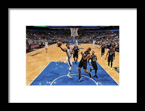 Nba Pro Basketball Framed Print featuring the photograph Jimmy Butler by Fernando Medina