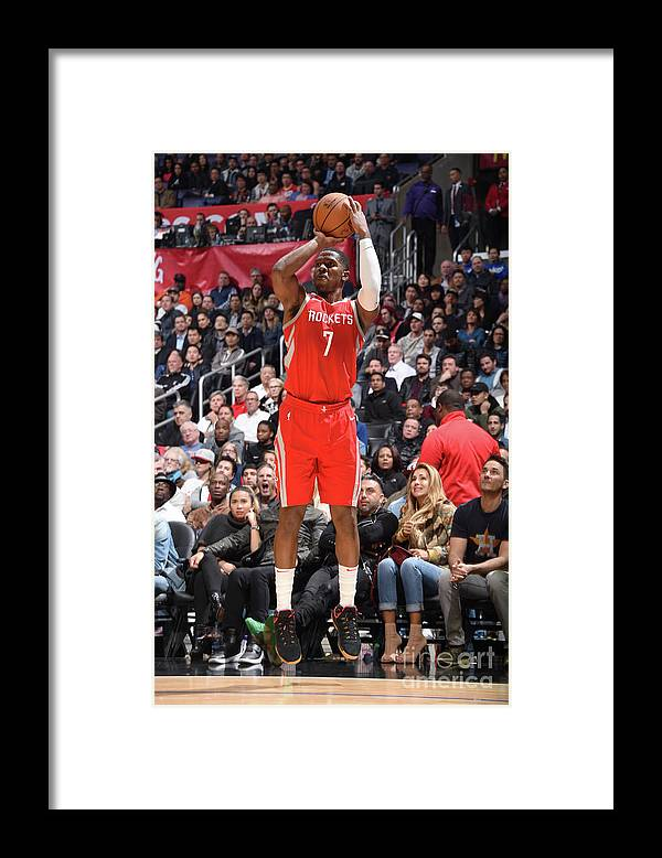 Nba Pro Basketball Framed Print featuring the photograph Joe Johnson by Andrew D. Bernstein