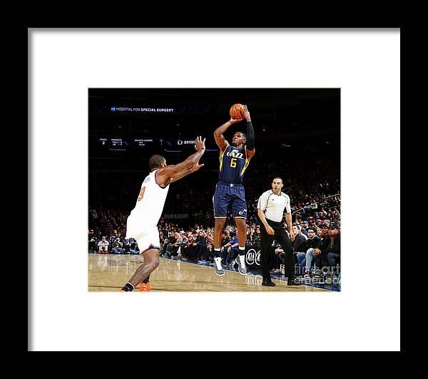 Nba Pro Basketball Framed Print featuring the photograph Joe Johnson by Nathaniel S. Butler