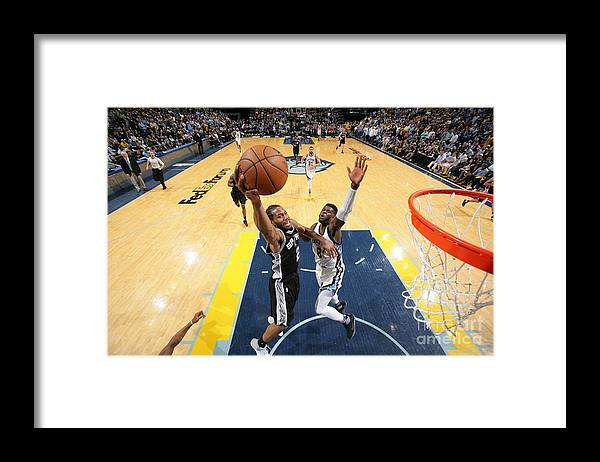 Playoffs Framed Print featuring the photograph Kawhi Leonard by Joe Murphy