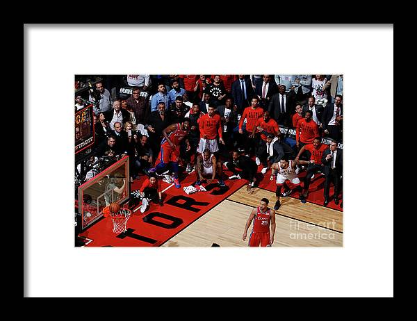 Playoffs Framed Print featuring the photograph Kawhi Leonard by Mark Blinch