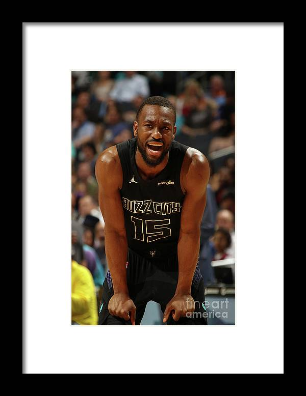 Kemba Walker Framed Print featuring the photograph Kemba Walker by Brock Williams-smith