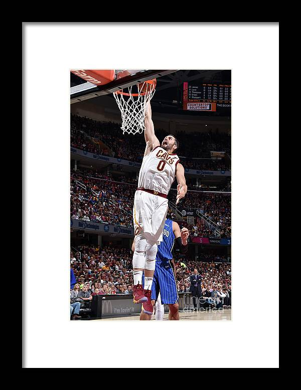 Nba Pro Basketball Framed Print featuring the photograph Kevin Love by David Liam Kyle