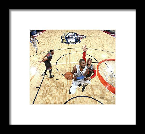 Event Framed Print featuring the photograph Kyrie Irving by Nathaniel S. Butler