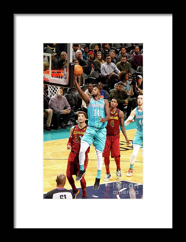 Nba Pro Basketball Framed Print featuring the photograph Michael Kidd-gilchrist by Kent Smith