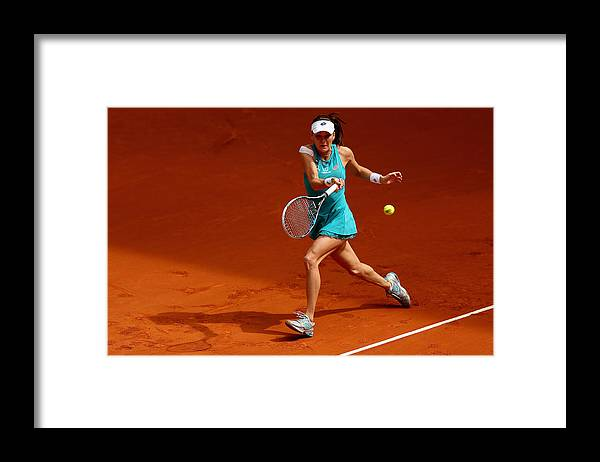 Tennis Framed Print featuring the photograph Mutua Madrid Open - Day Three by Clive Brunskill