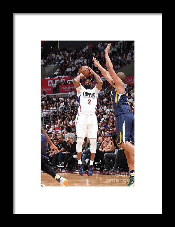 Playoffs Framed Print featuring the photograph Raymond Felton by Andrew D. Bernstein