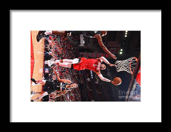 Nba Pro Basketball Framed Print featuring the photograph Russell Westbrook by Bill Baptist