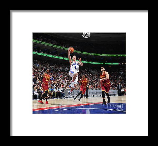 Nba Pro Basketball Framed Print featuring the photograph T.j. Mcconnell by Jesse D. Garrabrant