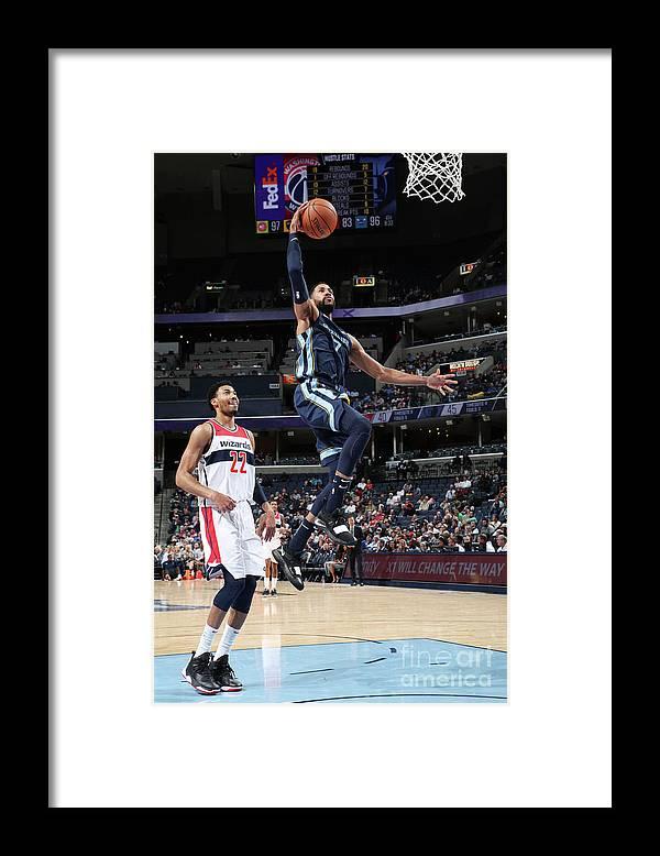Nba Pro Basketball Framed Print featuring the photograph Wayne Selden by Joe Murphy