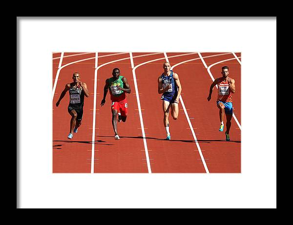 Championship Framed Print featuring the photograph 16th IAAF World Athletics Championships London 2017 - Day Eight by Patrick Smith