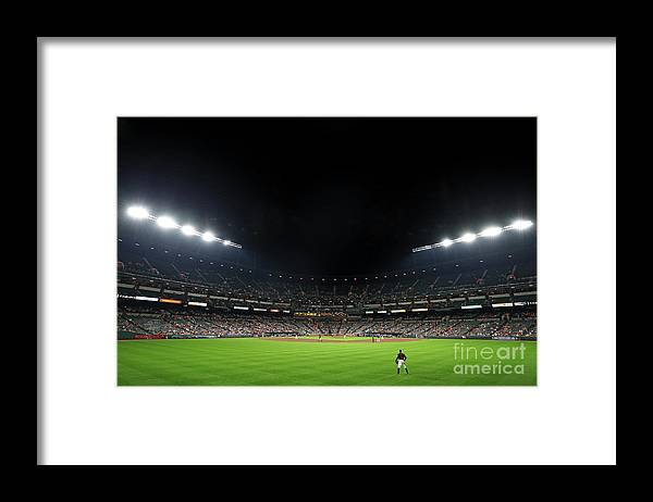 People Framed Print featuring the photograph Adam Jones by Patrick Smith