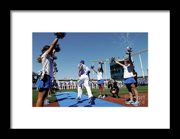 People Framed Print featuring the photograph Alex Gordon by Jamie Squire