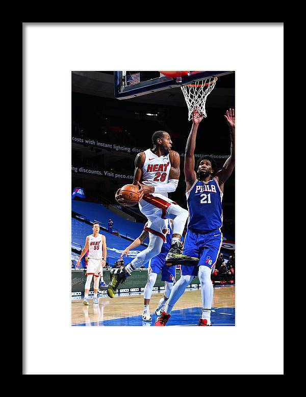 Nba Pro Basketball Framed Print featuring the photograph Andre Iguodala by Jesse D. Garrabrant