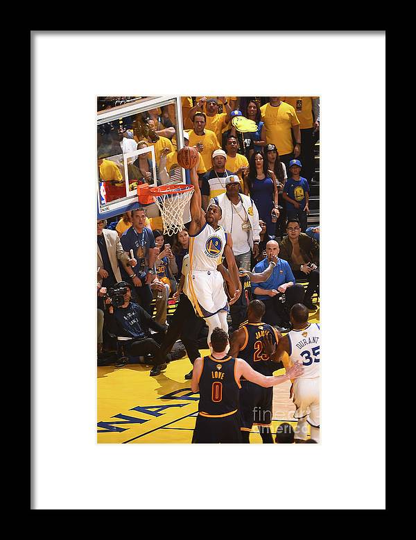 Playoffs Framed Print featuring the photograph Andre Iguodala by Noah Graham