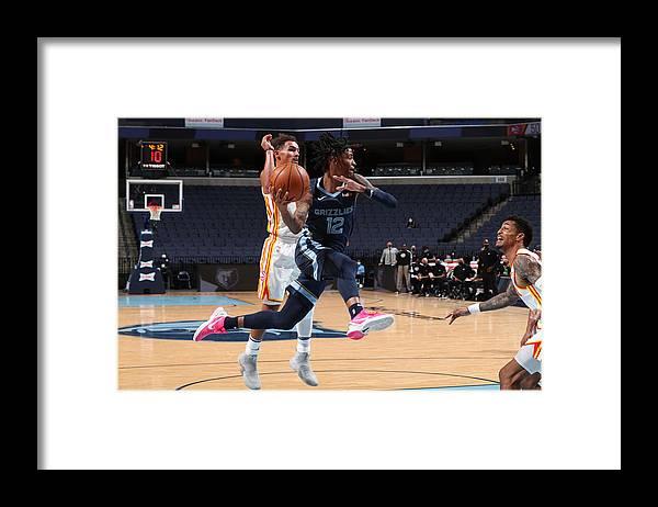 Nba Pro Basketball Framed Print featuring the photograph Atlanta Hawks v Memphis Grizzlies by Joe Murphy