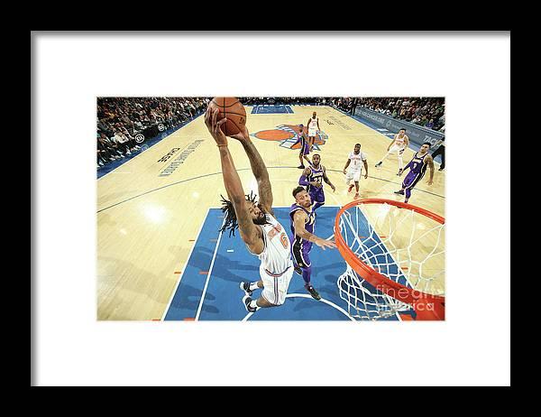 Nba Pro Basketball Framed Print featuring the photograph Deandre Jordan by Nathaniel S. Butler