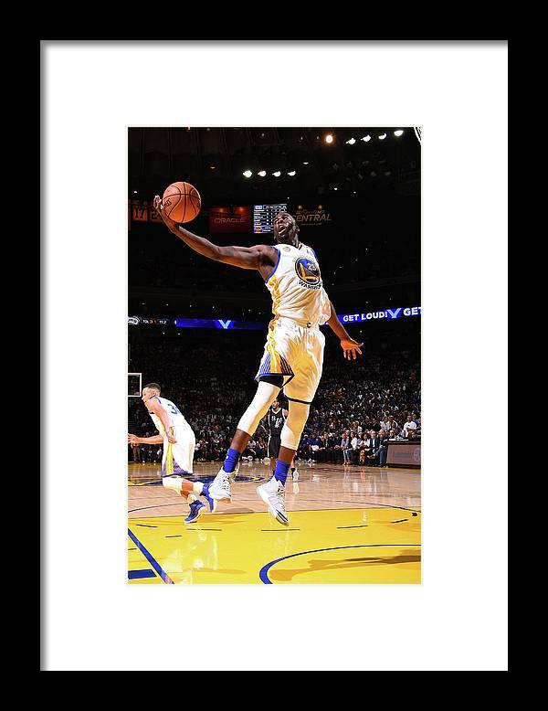 Nba Pro Basketball Framed Print featuring the photograph Draymond Green by Andrew D. Bernstein