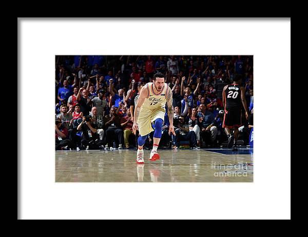 Playoffs Framed Print featuring the photograph J.j. Redick by Jesse D. Garrabrant
