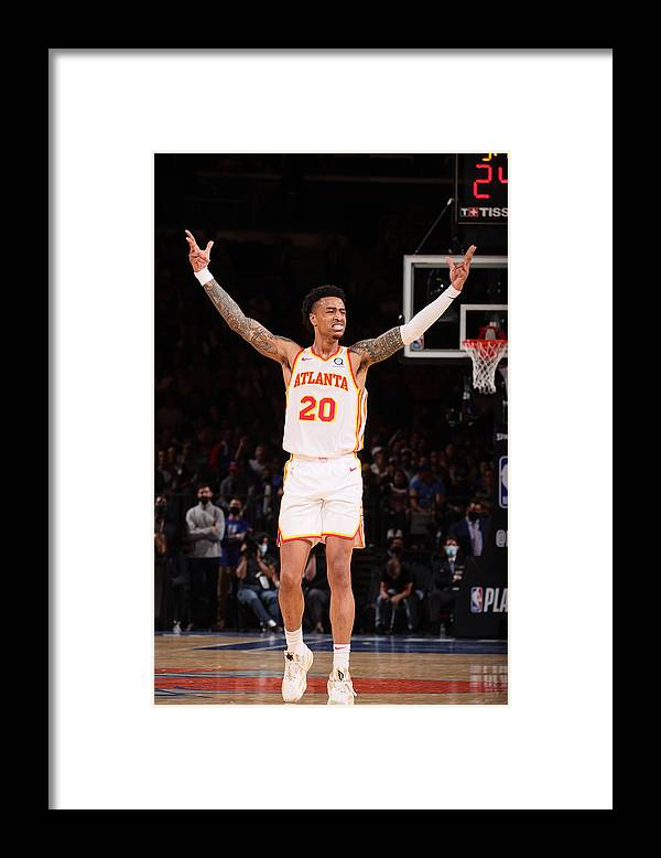 Playoffs Framed Print featuring the photograph John Collins by Nathaniel S. Butler