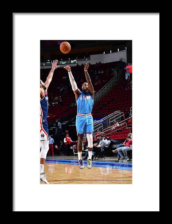 Nba Pro Basketball Framed Print featuring the photograph John Wall by Cato Cataldo