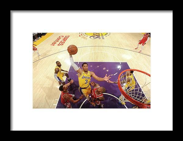 Nba Pro Basketball Framed Print featuring the photograph Josh Hart by Andrew D. Bernstein