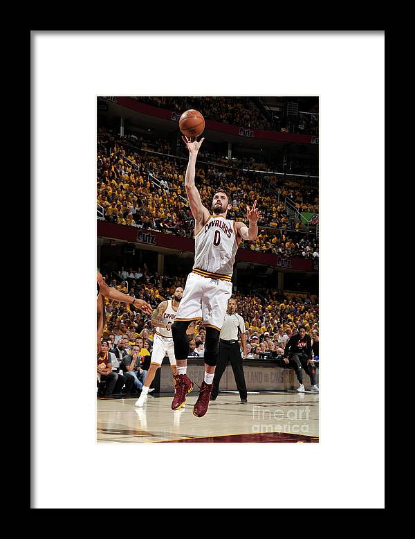 Playoffs Framed Print featuring the photograph Kevin Love by David Liam Kyle