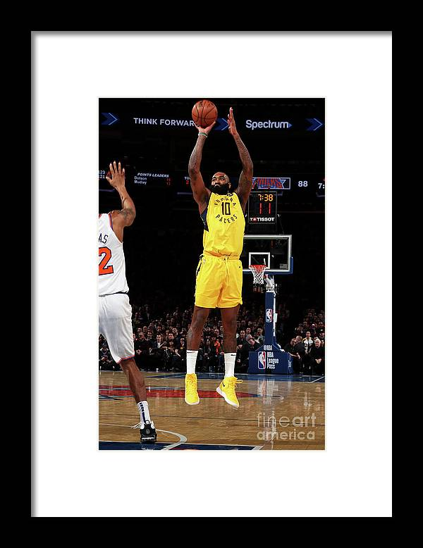 Nba Pro Basketball Framed Print featuring the photograph Kyle O'quinn by Nathaniel S. Butler