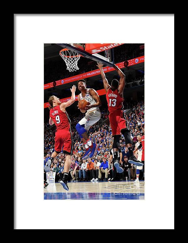 Playoffs Framed Print featuring the photograph Markelle Fultz by Jesse D. Garrabrant