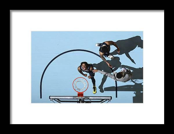 Nba Pro Basketball Framed Print featuring the photograph Miami Heat v Memphis Grizzlies by Joe Murphy