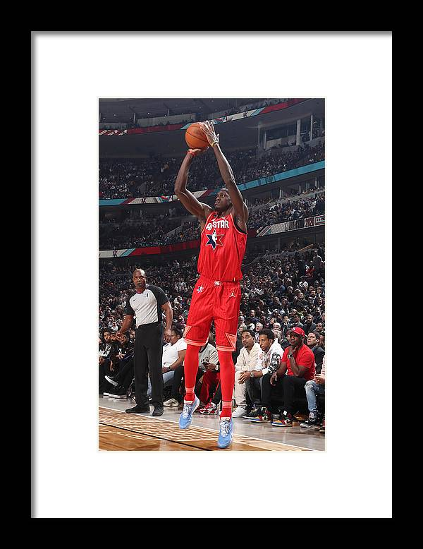 Nba Pro Basketball Framed Print featuring the photograph Pascal Siakam by Nathaniel S. Butler