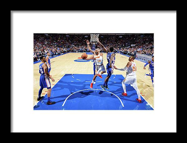 Nba Pro Basketball Framed Print featuring the photograph Vince Carter by Jesse D. Garrabrant