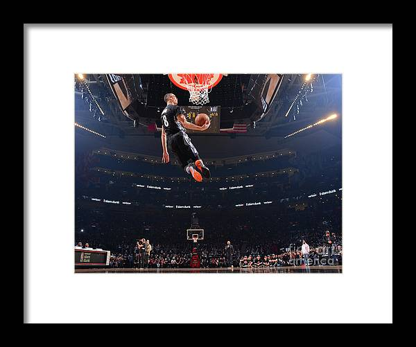 Event Framed Print featuring the photograph Zach Lavine by Jesse D. Garrabrant