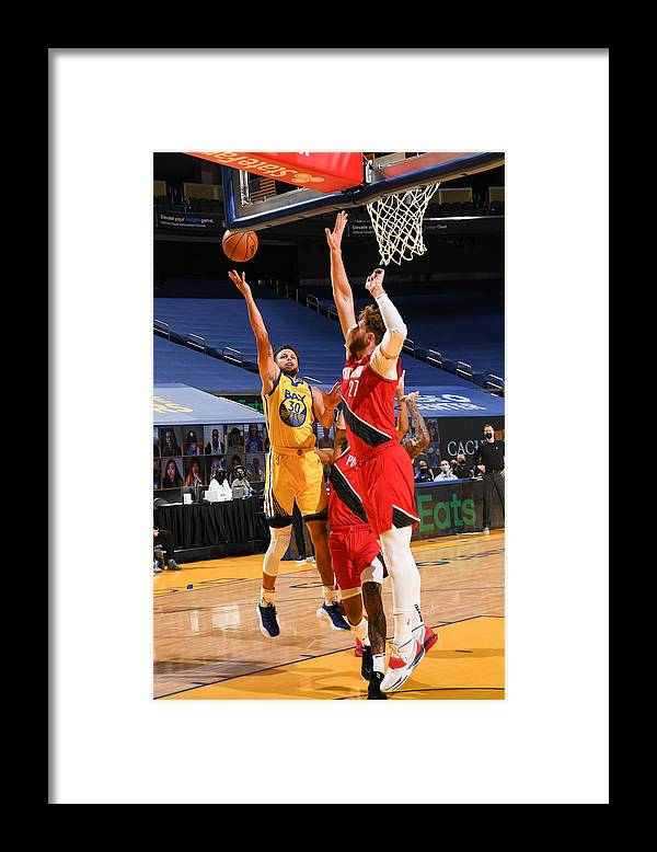 San Francisco Framed Print featuring the photograph Stephen Curry by Noah Graham