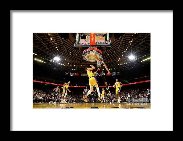 Nba Pro Basketball Framed Print featuring the photograph Andre Iguodala by Noah Graham