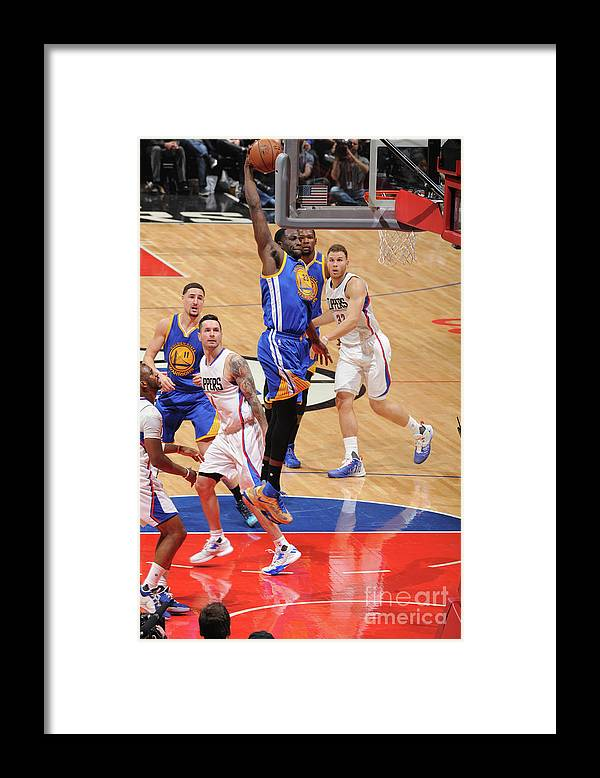 Nba Pro Basketball Framed Print featuring the photograph Draymond Green by Andrew D. Bernstein