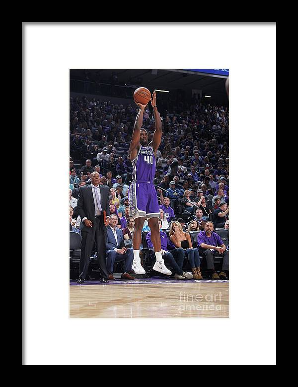Nba Pro Basketball Framed Print featuring the photograph Harrison Barnes by Rocky Widner