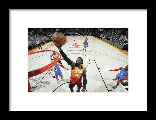 Nba Pro Basketball Framed Print featuring the photograph Jae Crowder by Melissa Majchrzak