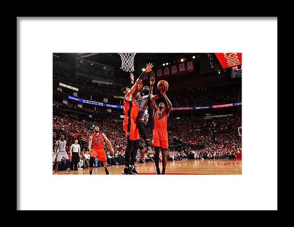 Nba Pro Basketball Framed Print featuring the photograph James Harden by Jesse D. Garrabrant