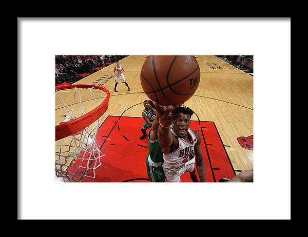 Playoffs Framed Print featuring the photograph Jimmy Butler by Gary Dineen