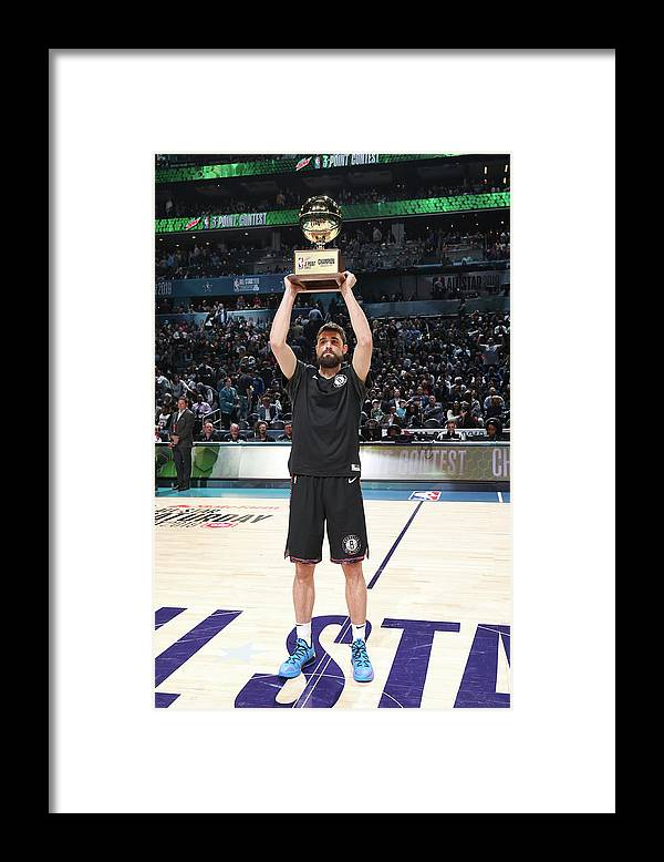 Nba Pro Basketball Framed Print featuring the photograph Joe Harris by Nathaniel S. Butler